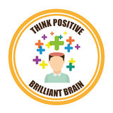 Think positive Stock Image