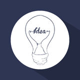 Think postive design. Think positive concept and ideas design, vector illustration 10 eps graphic Stock Image