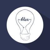 Think postive design Stock Image