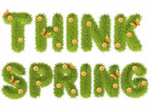 Think spring Stock Photos