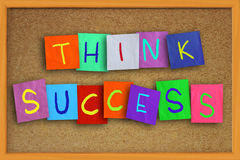 Think Success Stock Images