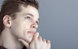 The thinker Royalty Free Stock Photography