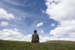 Thinker stock photography