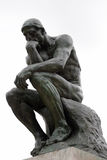 The Thinker by Rodin royalty free stock photography
