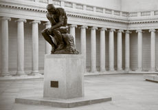 The Thinker by Rodin Stock Image