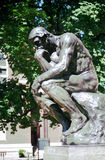 Thinker - Rodin - NYC Stock Photos