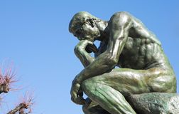 The Thinker in St Paul Royalty Free Stock Images