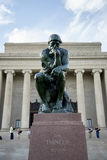 The Thinker statue Royalty Free Stock Photo