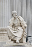 Thinkers pose royalty free stock images