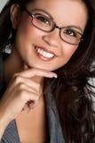 Thinking Asian Woman royalty free stock photo