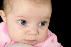 Thinking baby Royalty Free Stock Images