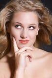Thinking beauty Stock Images