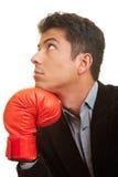 Thinking boxer Stock Photos