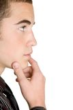 Thinking Boy Royalty Free Stock Image