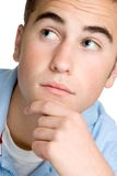 Thinking Boy Stock Image
