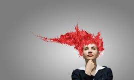 Thinking bright! Stock Image