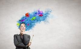 Thinking bright! Stock Photos