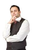 Thinking businessman Stock Images