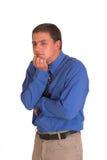 Thinking businessman Royalty Free Stock Photo