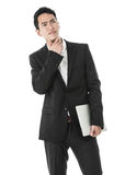 The thinking businessman Royalty Free Stock Photography