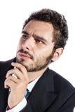 Thinking businessman Stock Photography