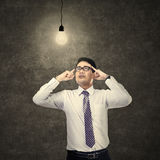 Thinking Businessman Royalty Free Stock Image