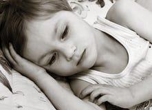 Thinking child Stock Images