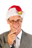 Thinking about Christmas Royalty Free Stock Photo