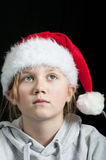 Thinking of Christmas Stock Photo