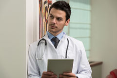 Thinking Doctor Stock Photography