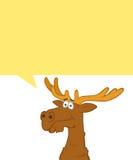 Thinking elk Royalty Free Stock Image