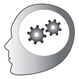 Thinking gears Royalty Free Stock Image