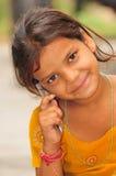 Thinking girl Stock Images