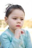 Thinking girl Royalty Free Stock Photo