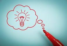 Thinking Idea Stock Photo