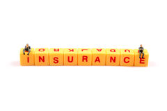 Thinking about insurance Royalty Free Stock Photo