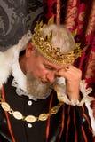 Thinking king Stock Image