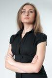 Thinking lady - Business Royalty Free Stock Photo
