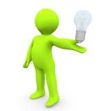Thinking Lightbulb Stock Images