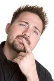 Thinking Man Royalty Free Stock Photos