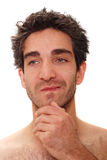 Thinking man Royalty Free Stock Photography