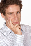 Thinking man Stock Images