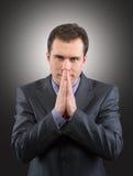 Thinking man Royalty Free Stock Image