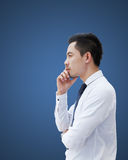 Thinking man Stock Photography