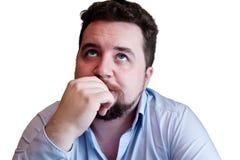 Thinking man Stock Image