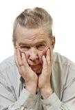 Thinking man. Royalty Free Stock Image