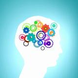 Thinking mechanism Stock Image