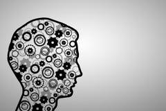 Thinking mechanisms Stock Image