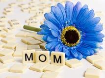 Thinking of Mom stock image