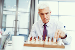 Thinking the next move Royalty Free Stock Photography